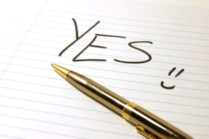 yes - notepad and pen